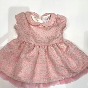 NWOT Baby Girl pink Dress
